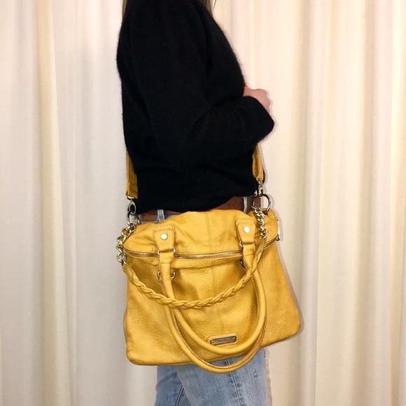 81a1731a8b Steve Madden Yellow Large Crossbody Bag Purse. M 5a975fcc331627b34da54ce6